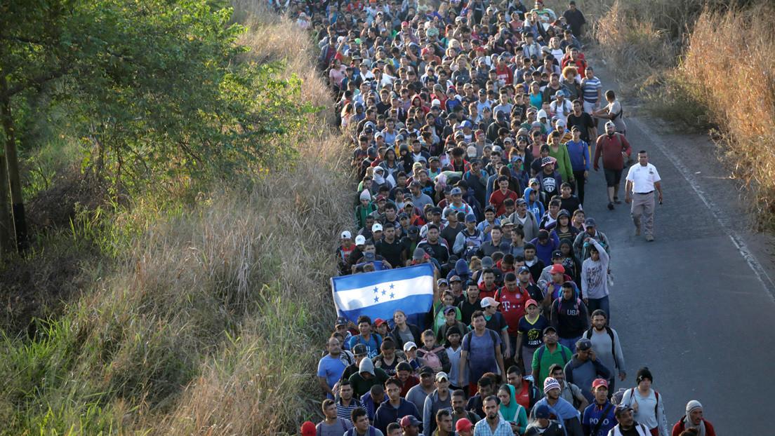 Parte de Honduras una nueva caravana de migrantes hacia EE.UU.