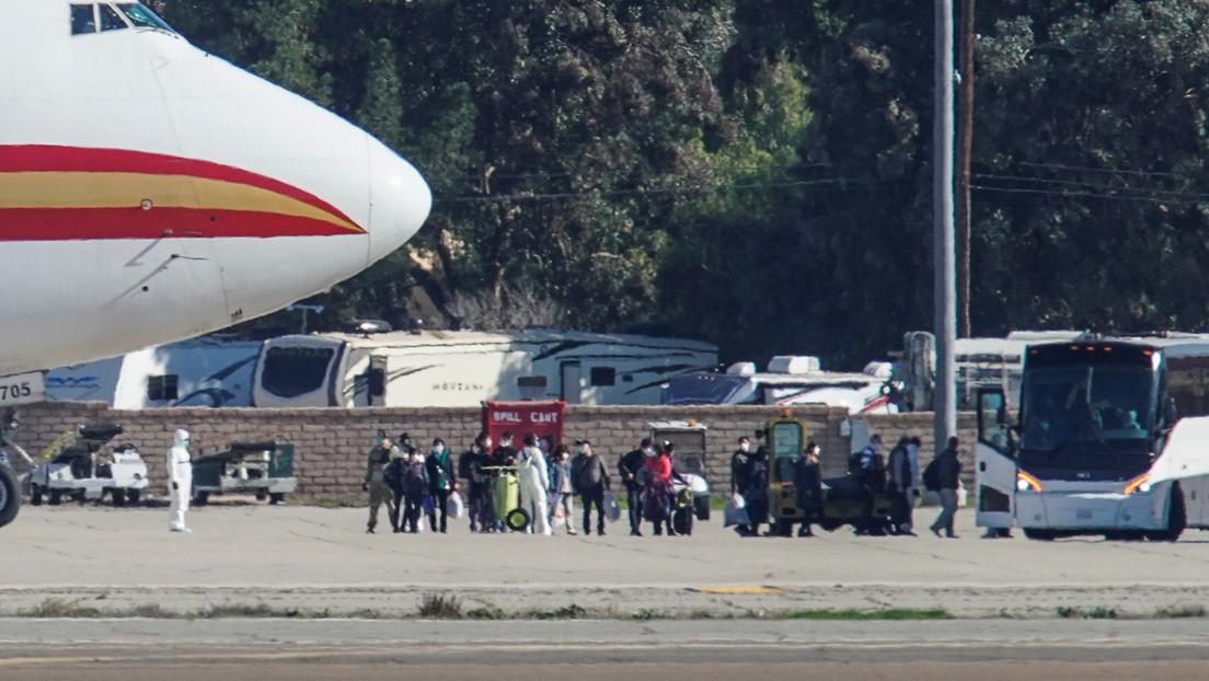 EE.UU. anuncia una cuarentena de 14 días para sus 195 ciudadanos evacuados de China