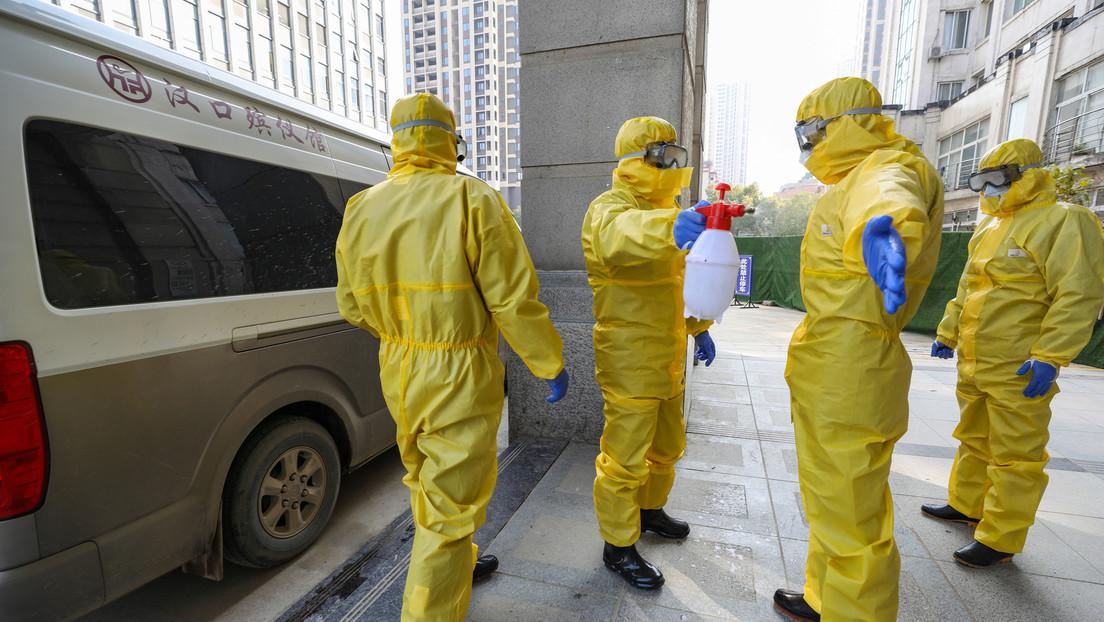 Van 45 nuevos muertos y 1.347 casos confirmados de infección por el coronavirus en la provincia china de Hubei