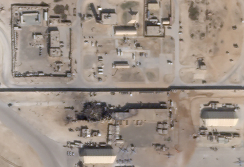 Siete bombas impactan contra base militar iraquí con soldados estadounidenses — Última Hora