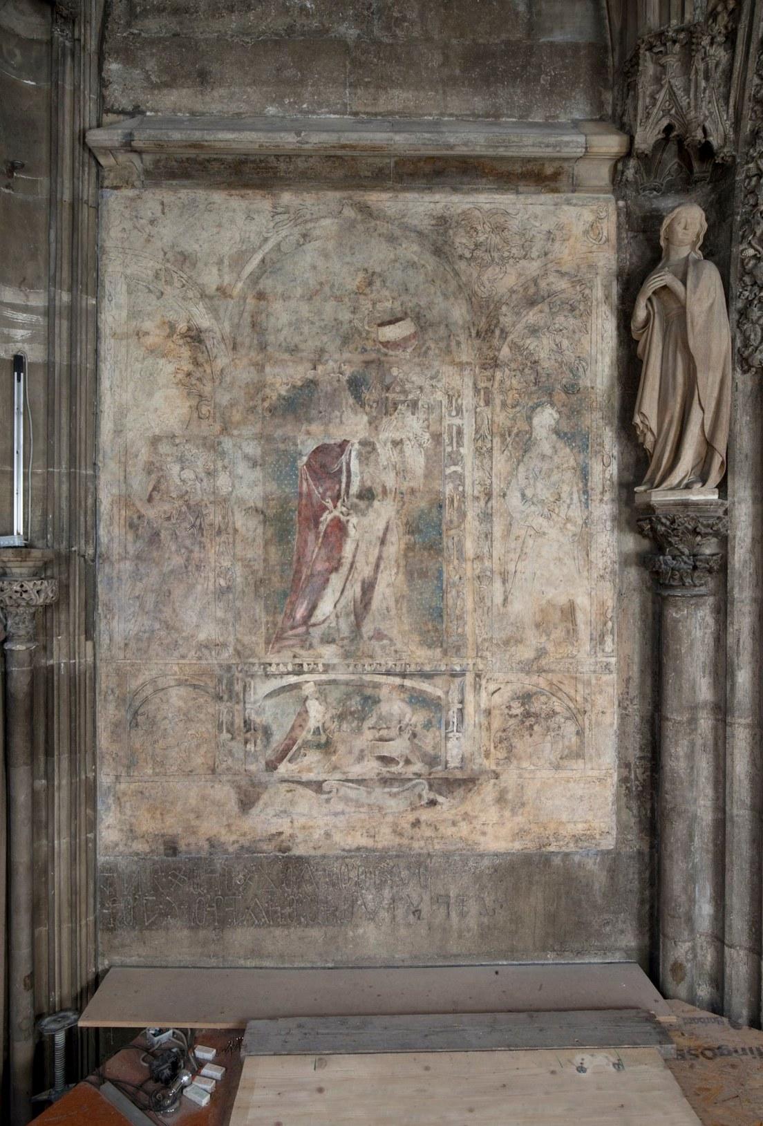 5e1ea6be59bf5b14285f67f7 Fotografias: Descubren en una catedral de Austria una pintura renacentista que podría ser una obra perdida de Alberto Durero