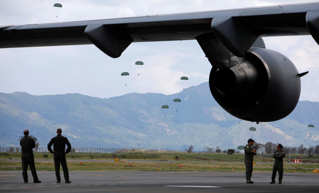 Apoyo logístico del Comando Sur de EE UU llegó a Colombia