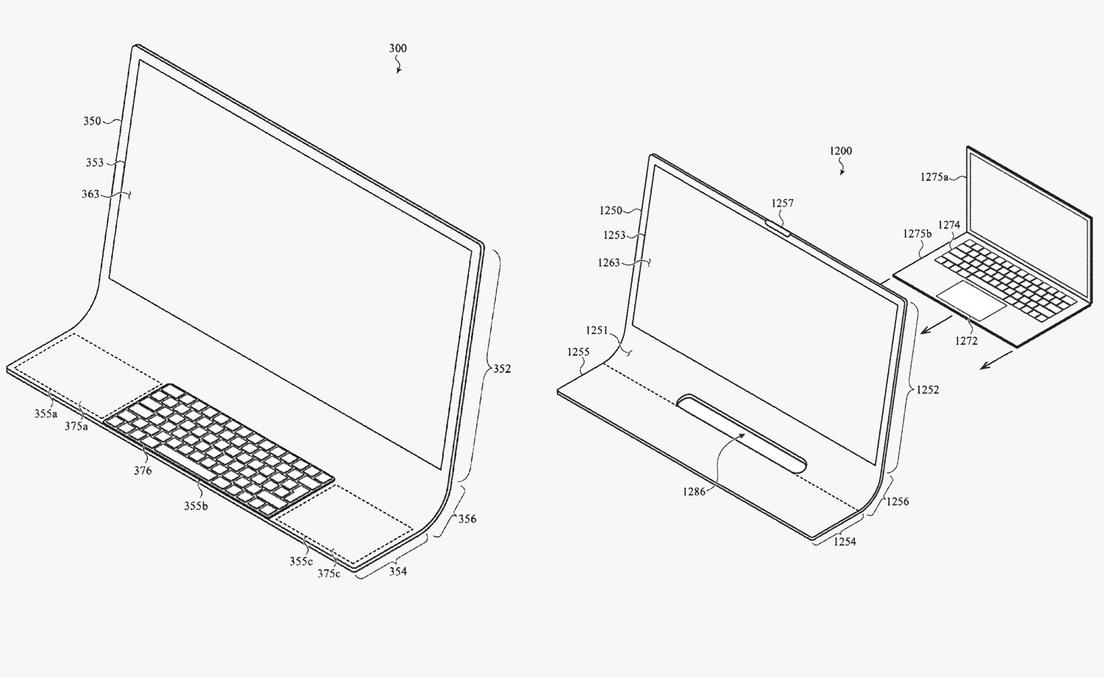 Resultado de imagen para Apple prepara un futurista iMac hecho de cristal curvado y con teclado incorporado