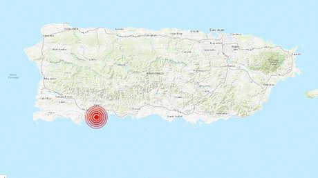 Puerto Rico sufre en menos de tres horas dos fuertes sismos, el último de magnitud 6,0