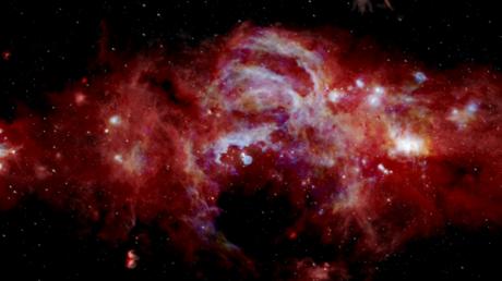 La NASA muestra una impresionante imagen del 'núcleo' de la Vía Láctea con detalles nunca antes vistos (FOTO, VIDEO)