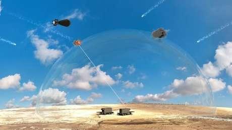 VIDEO: Israel muestra sus nuevas 'espadas láser' que derribarán misiles y drones