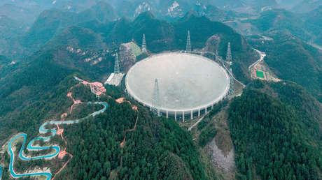 Le plus grand radiotélescope chinois au monde commence à fonctionner à pleine capacité