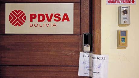 Fiscalía del Gobierno de facto de Bolivia ordena congelar las cuentas de PDVSA en el país plurinacional
