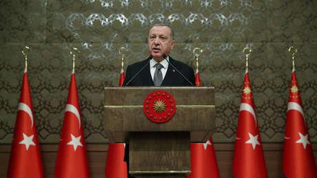Erdogan anuncia el incio del envío de tropas turcas a Libia