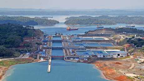 El Canal de Panamá sufre uno de los niveles de agua más bajos en los últimos 70 años