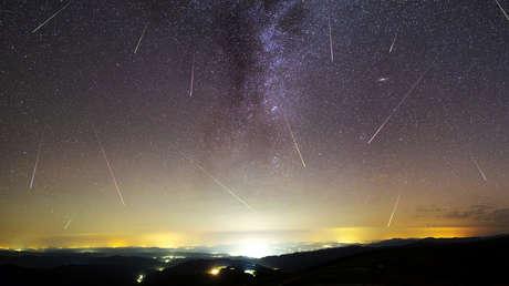 Las principales lluvias de meteoros que nos esperan este año en una sola imagen