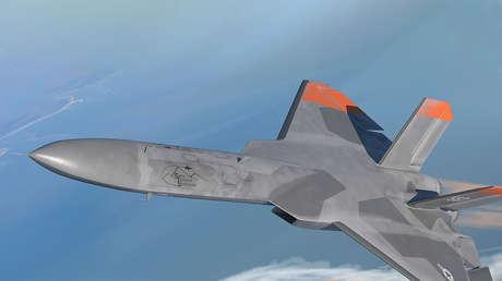 FOTO: EE.UU. presenta drones que simularán ser cazas furtivos rusos y chinos en combates de entrenamiento