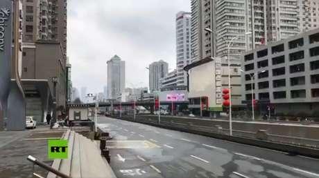 VIDEO: Wuhan se convierte en una ciudad fantasma tras el cierre por el coronavirus
