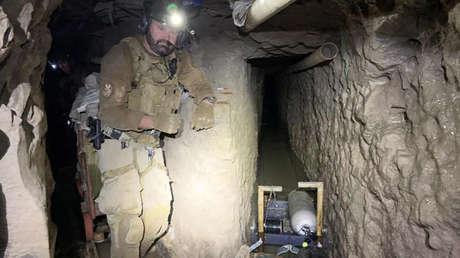 VIDEO: El túnel de tráfico de drogas más largo jamás descubierto en la frontera entre EE.UU. y México