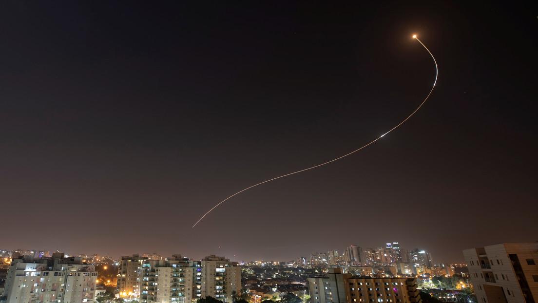 Israel ataca instalaciones de Hamás en respuesta a varios misiles lanzados desde Gaza