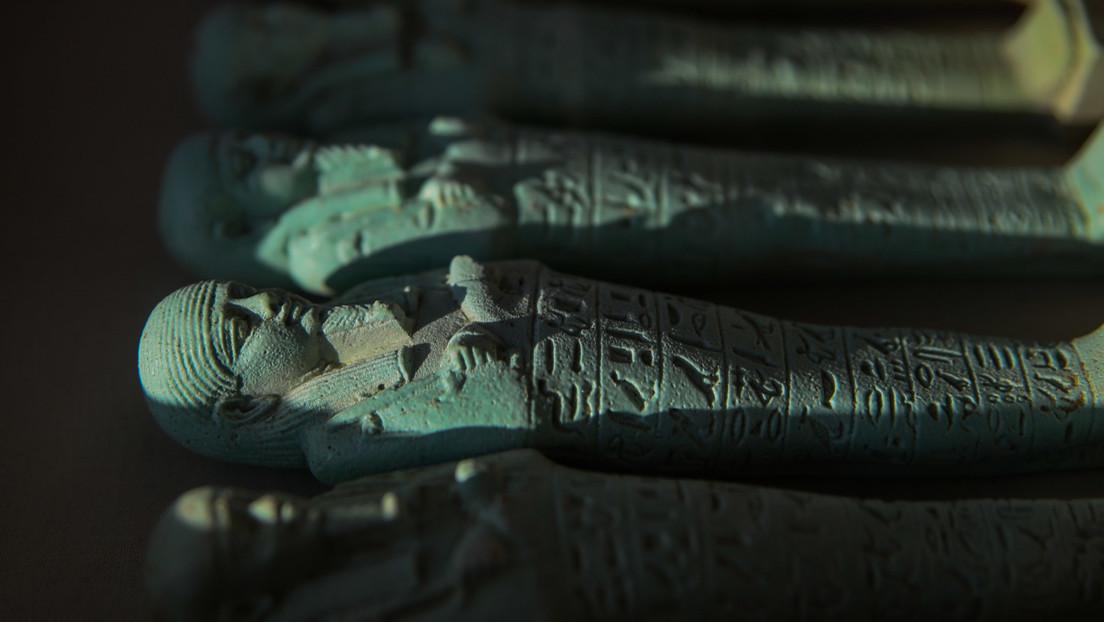 FOTOS, VIDEO: Hallan en Egipto 16 tumbas de la nobleza con más de 10.000 figurillas sagradas de hace 2.500 años