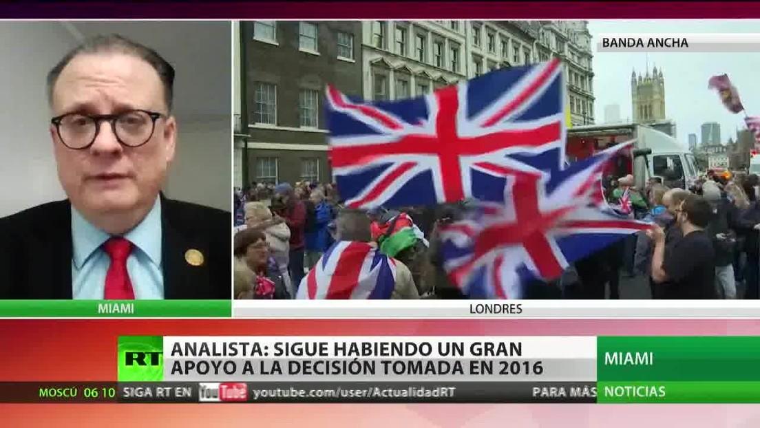 """""""Entre los británicos sigue habiendo un gran apoyo a la decisión tomada en 2016"""""""