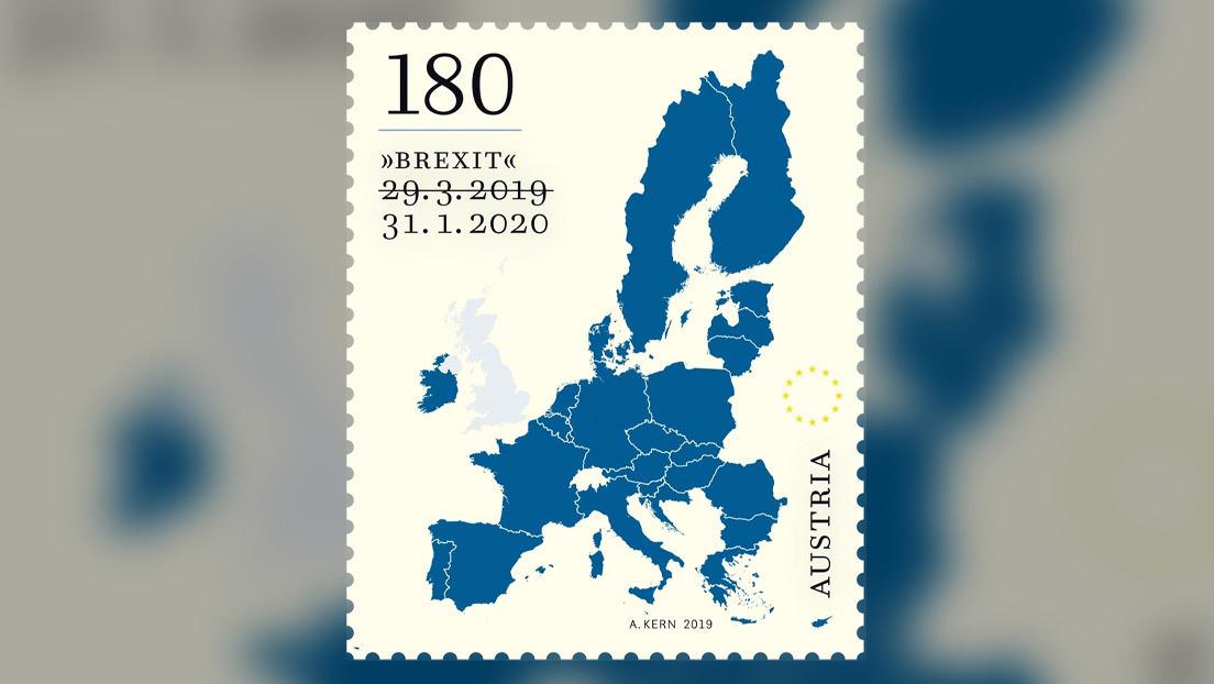 Los sellos austríacos destinados a conmemorar el Brexit sorprenden con un detalle