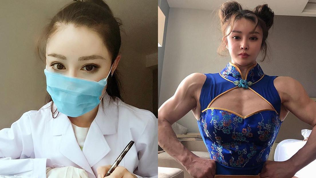 FOTOS: Así lucha una famosa 'cosplayer' de 'Street Fighter' contra el coronavirus