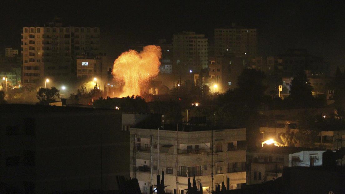 Israel responde al misil lanzado desde Gaza con un ataque aéreo contra objetos de Hamás
