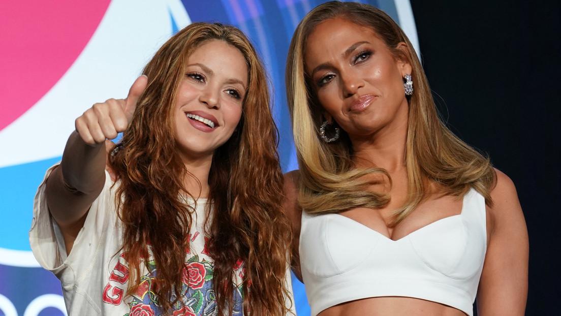 Shakira y JLo se roban toda la atención con su ropa en vísperas de Super Bowl 2020 y la Red no tiene piedad