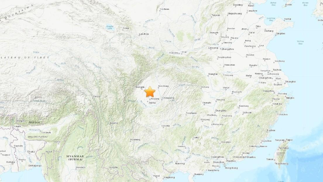 Un sismo de 5,1 se registra en el suroeste de China
