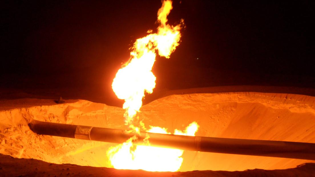 Reportan que hombres armados volaron una rama del gasoducto que conecta Egipto e Israel