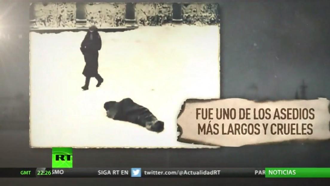 Rusia conmemora el fin del sitio de Leningrado por la Alemania nazi