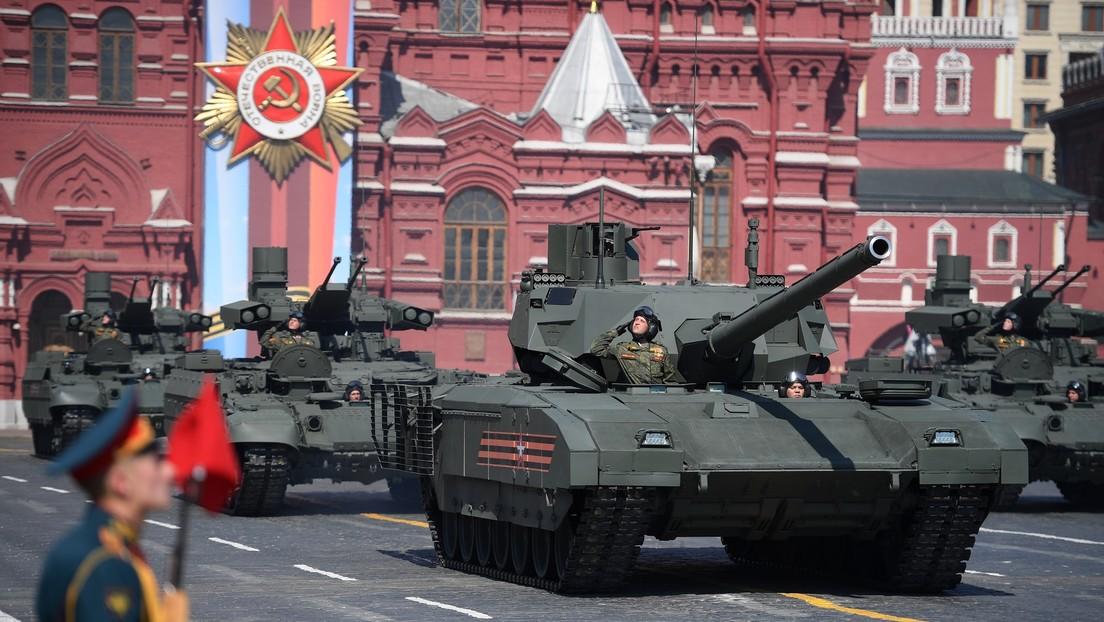 Rusia iniciará la entrega de tanques T-14 Armata a unidades de su Ejército este año