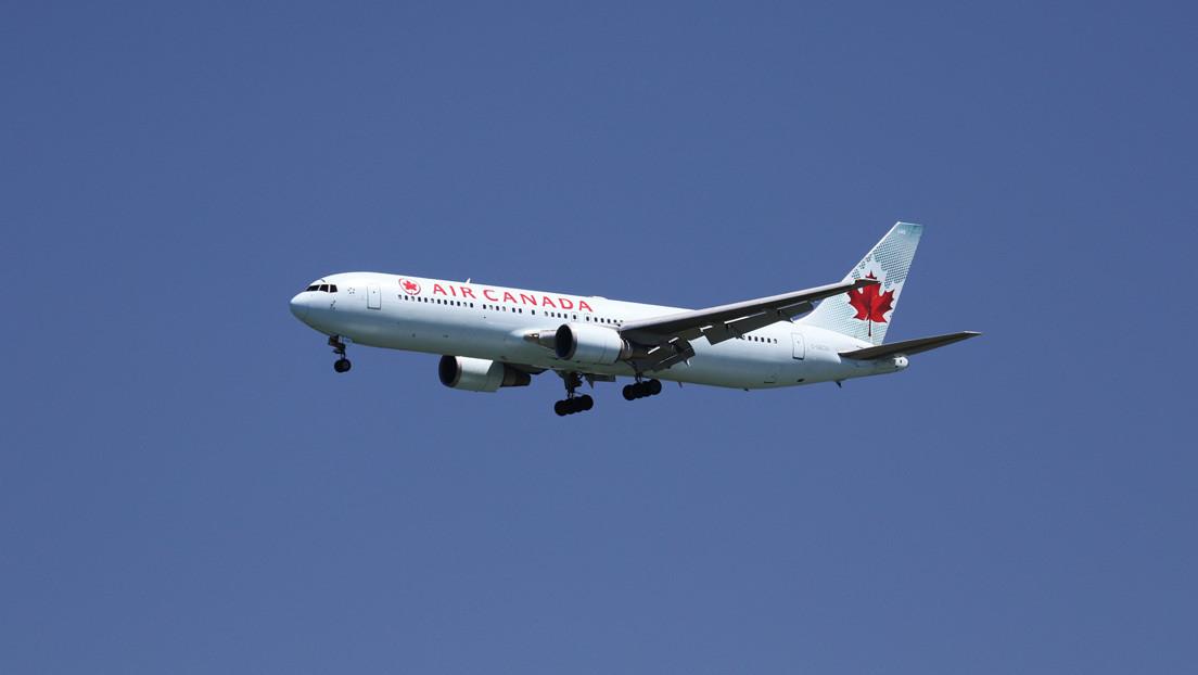Alarma por un avión de Air Canada que sobrevuela Madrid a baja altura por un fallo técnico