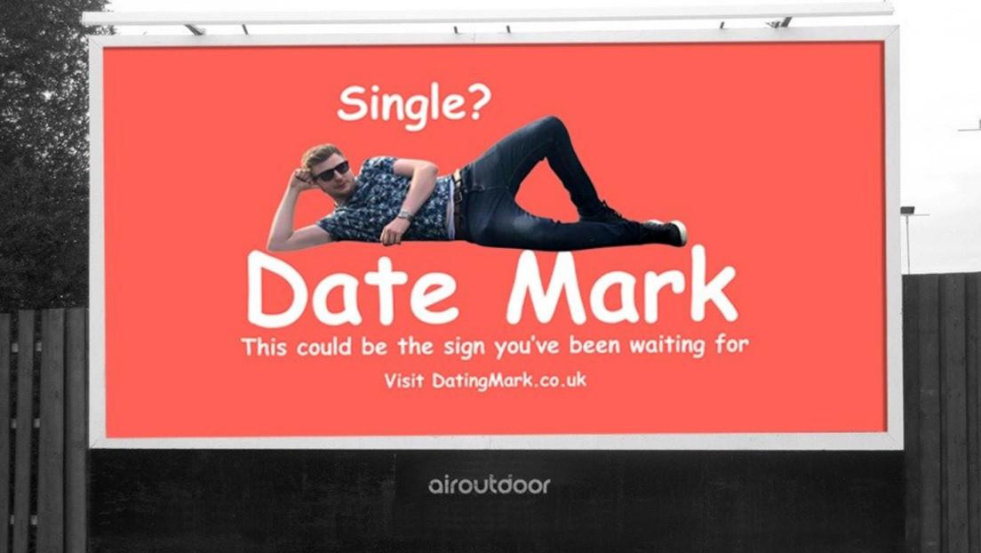 Un británico contrata una valla publicitaria para buscar novia y recibe más de un millar de socilitudes
