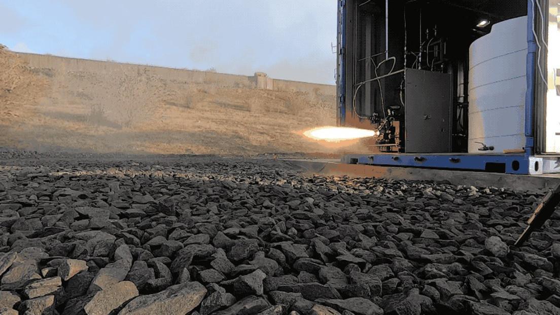 VIDEO: Prueban con éxito un motor de cohete impreso en 3D e impulsado por residuos plásticos