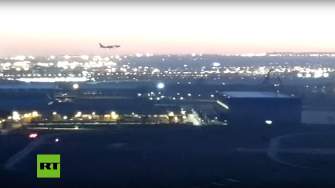 VIDEOS: Así se vivió desde el interior del avión de Air Canada el aterrizaje de emergencia en Madrid