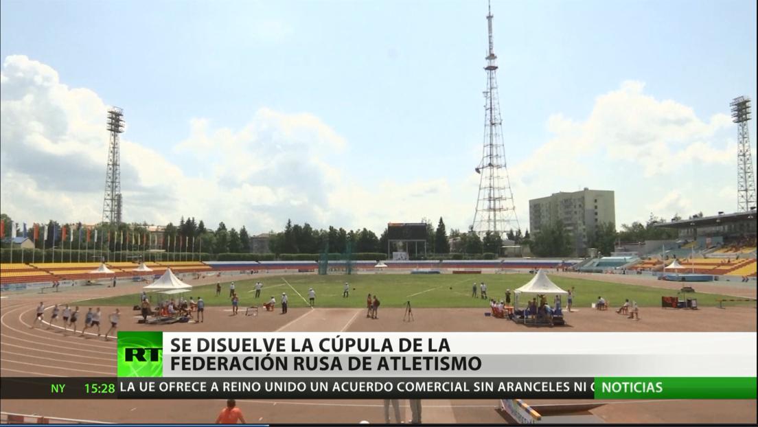 Se disuelve la cúpula de la Federación de Atletismo de Rusia