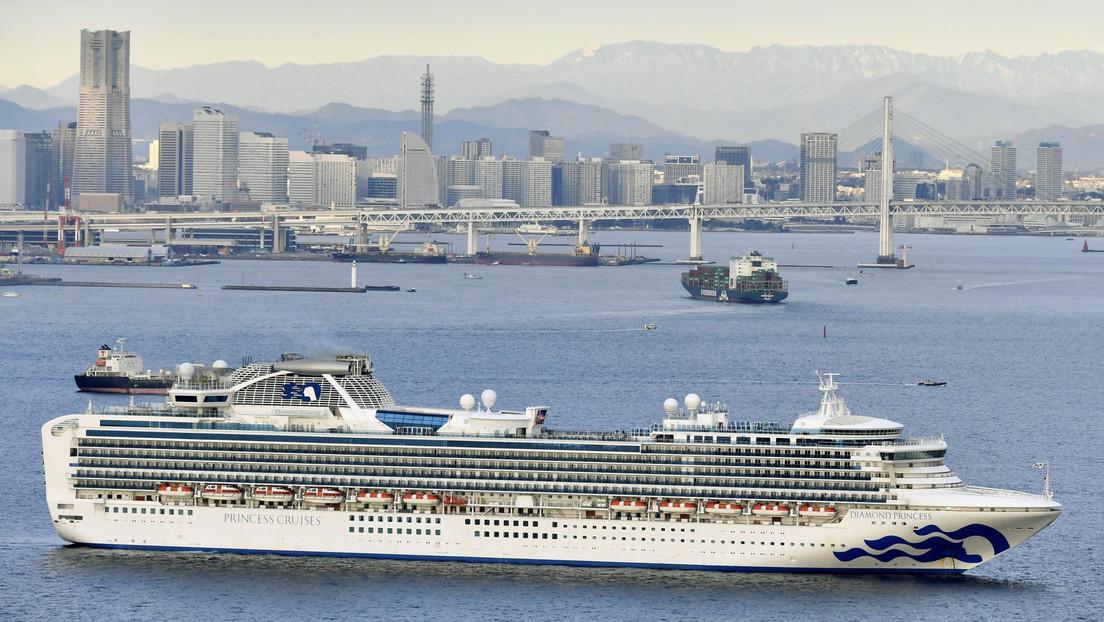 Japón pone en cuarentena un crucero con 3.700 personas por un caso del coronavirus