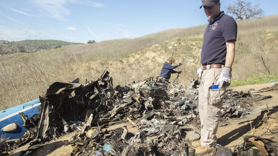Difunden las primeras llamadas recibidas por el servicio de emergencia 911 tras el accidente mortal de Kobe Bryant