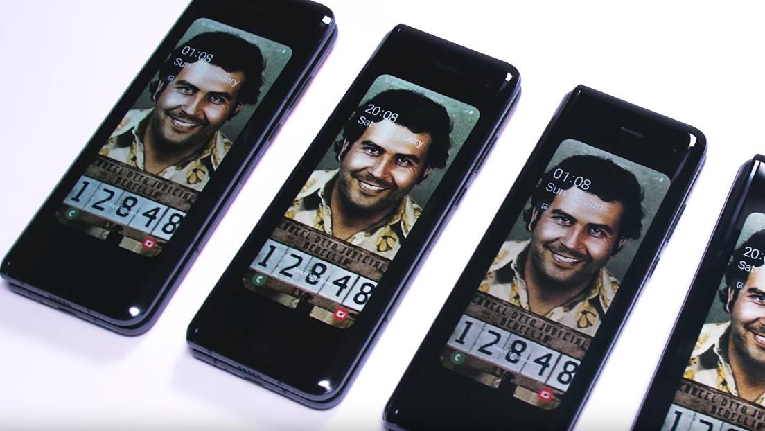 """""""Descansa en paz Samsung"""": el hermano de Pablo Escobar lanza un nuevo teléfono plegable para 'enterrar' a la competencia"""