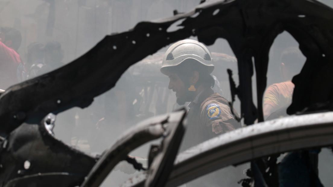 Militares rusos: los Cascos Blancos grabaron un video falso con víctimas humanas acusando del uso de armas químicas al Ejército sirio