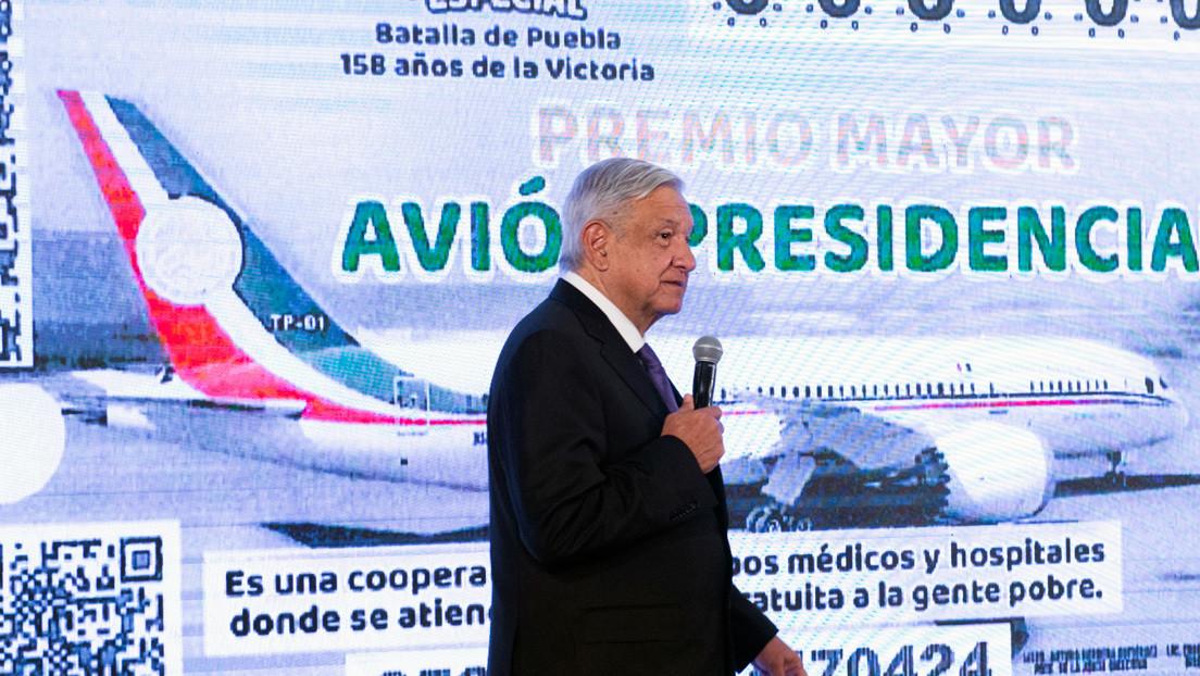 López Obrador anuncia la última oportunidad para vender el lujoso avión presidencial (y evitar el sorteo)