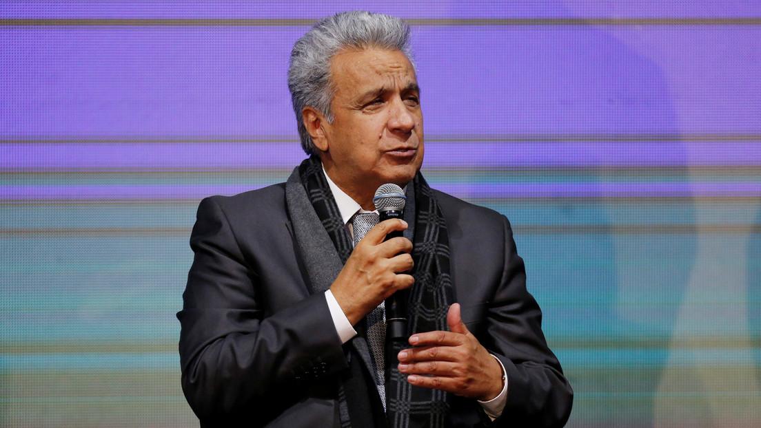 Presidente ecuatoriano pide reformas legales para expulsar a extranjeros que delinquen
