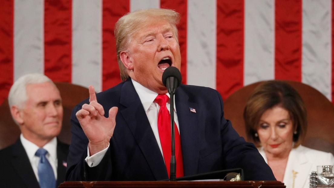 """Trump pide al Congreso fondos para que EE.UU. vuelva a la Luna y """"plante la bandera"""" en Marte"""