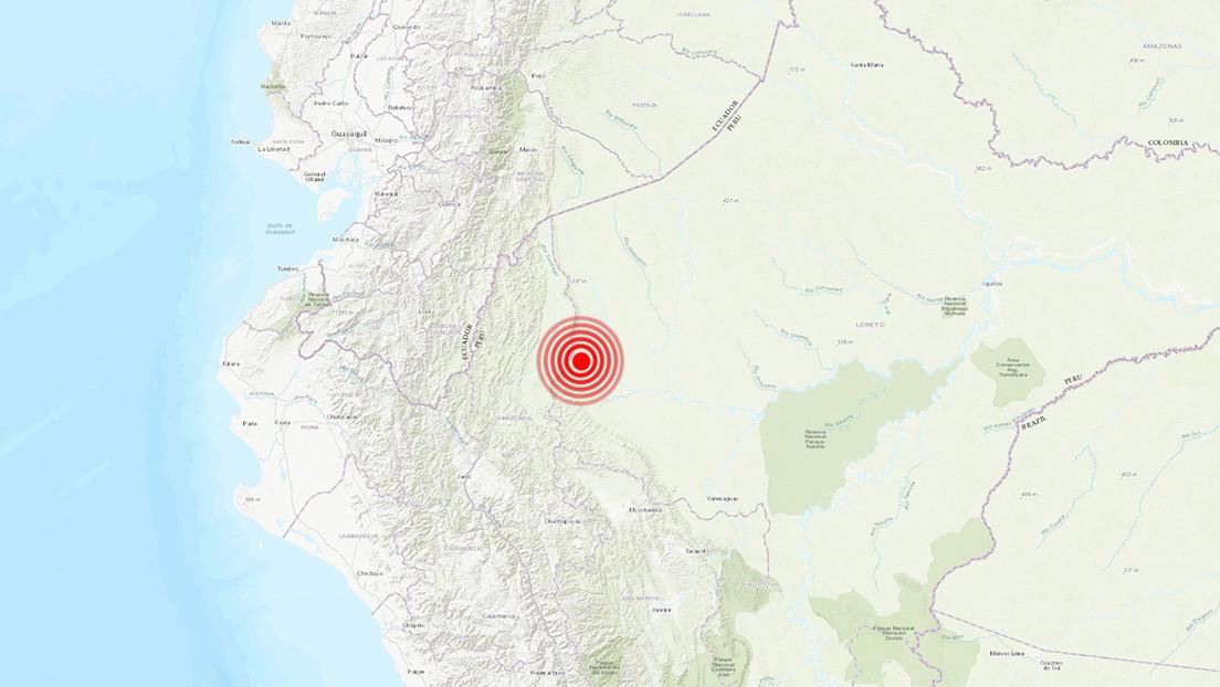 Un sismo de magnitud 5,3 sacude el norte de Perú