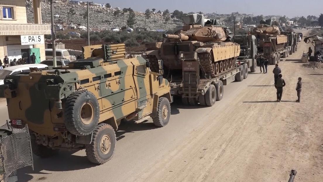 Erdogan amenaza con atacar a las tropas sirias si no se retiran de los puestos de control turcos de Idlib