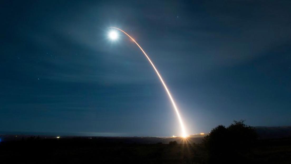 El Pentágono realiza otra prueba de un misil balístico intercontinental