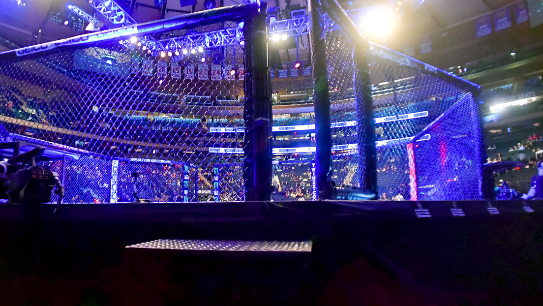 VIDEO: Dos entrenadores terminan a puñetazo limpio durante un combate de MMA
