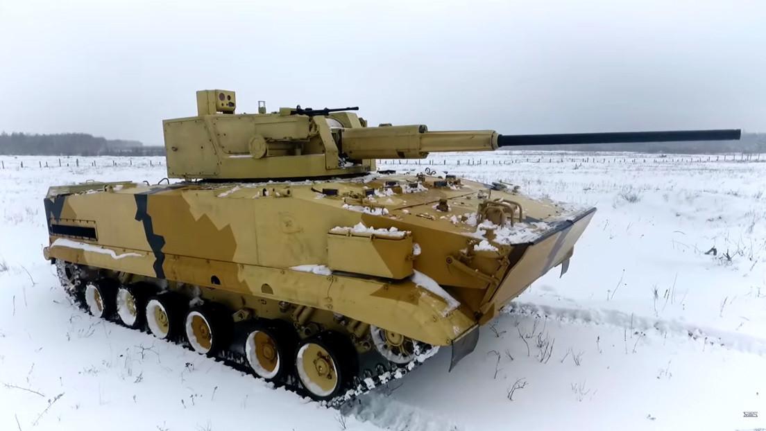 VIDEO: Fabricante de tanques rusos prueba su avanzado módulo automático de combate AU-220M
