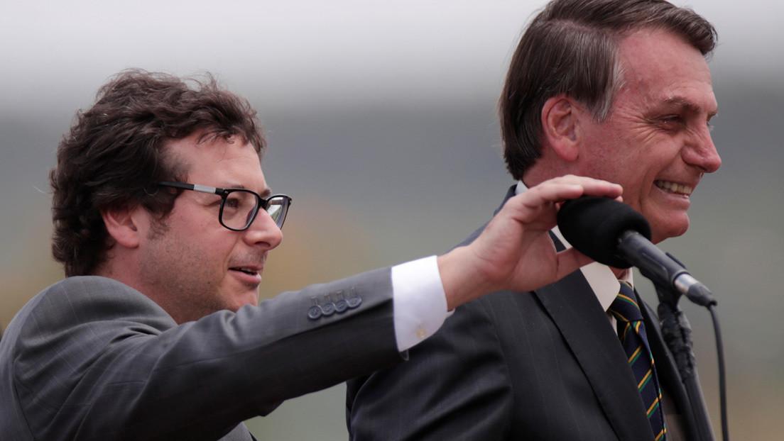 Investigan al jefe de prensa de Bolsonaro por corrupción