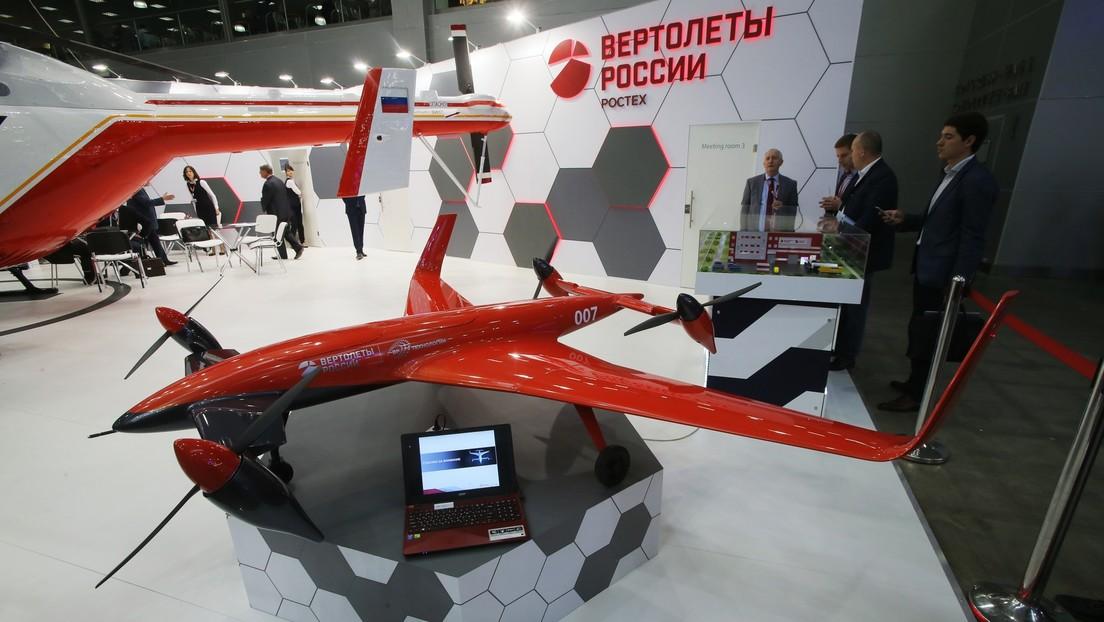 Rusia desarrolla una nueva aeronave que podrá aterrizar en superficies verticales