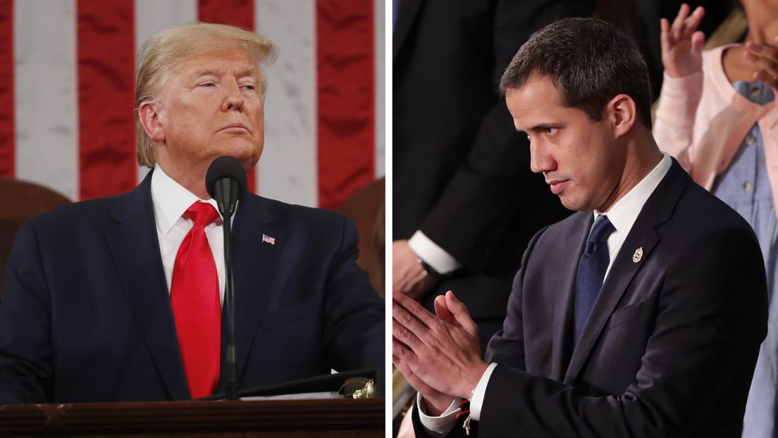 Trump se reúne con Guaidó en la Casa Blanca