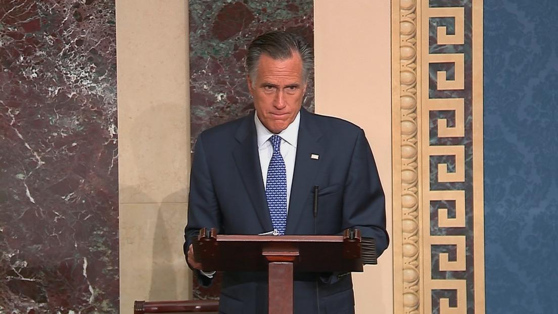 Mitt Romney, el único republicano que votó en contra de Trump en el juicio político
